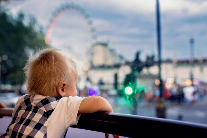 London with a toddler