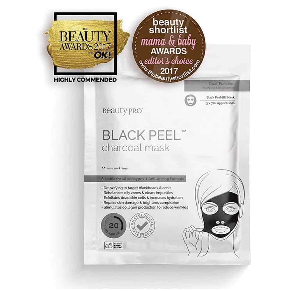 BeautyProBlackDiamondPeel-OffMaskwithActivatedCharcoal