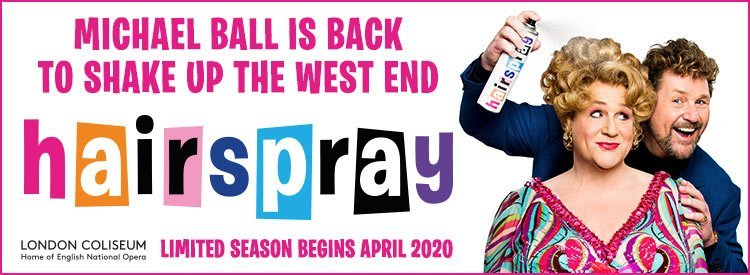 Buy tickets to see Hairspray at London Coliseum