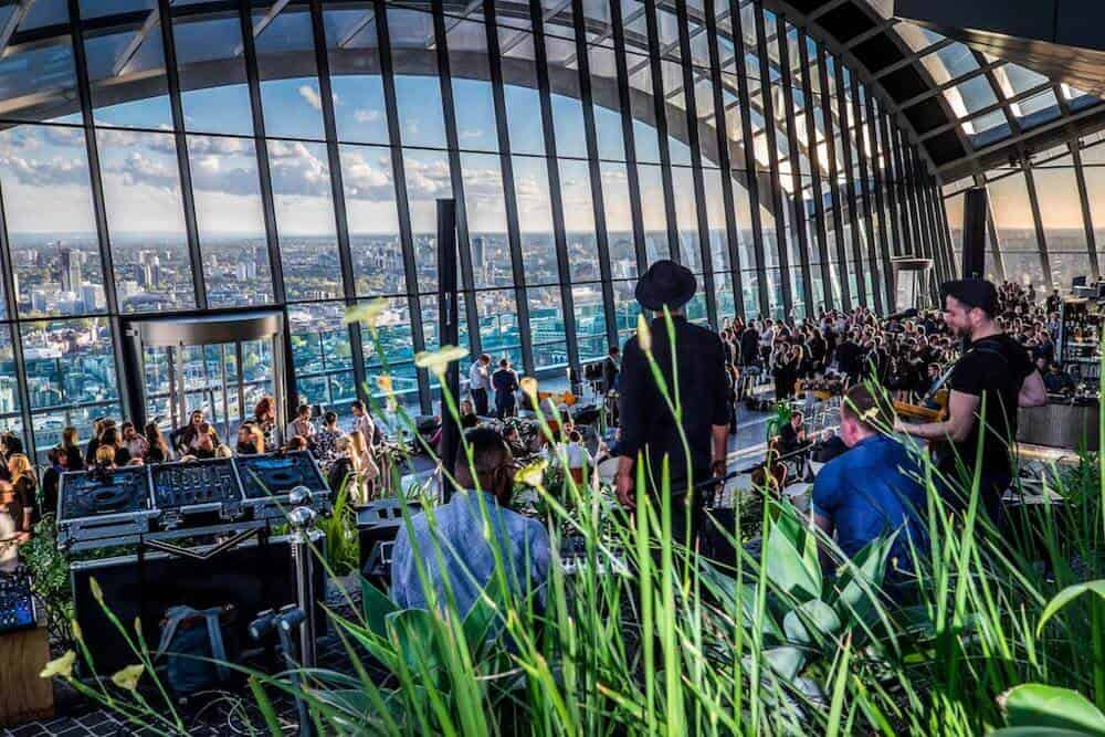 Take your teenager to Sky Garden London