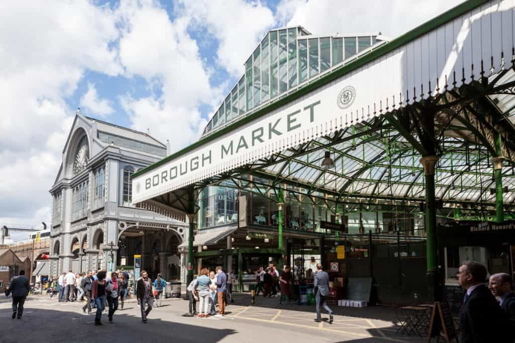 London in one day - Borough Market
