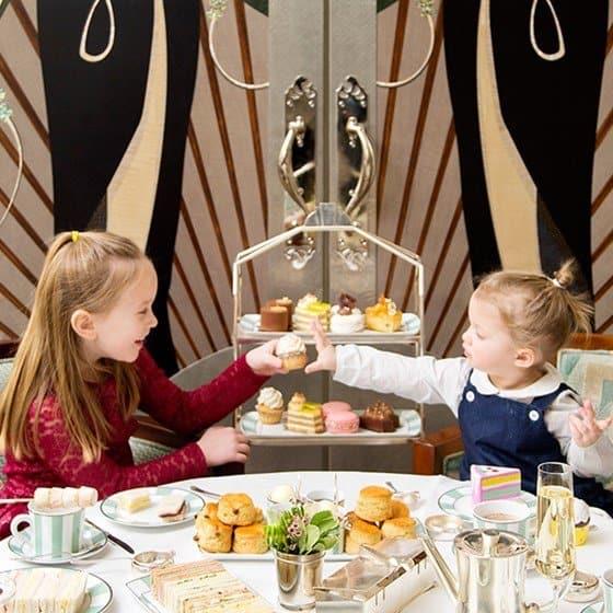 Claridge's Children's Afternoon Tea