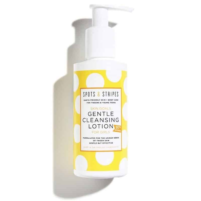 tween skincare Spots and stripes GentleCleansingLotion