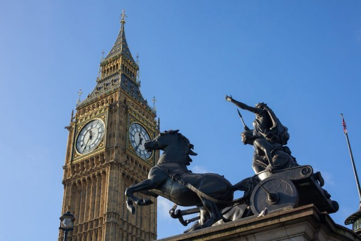 London facts for kids - Celtic Queen Boudicca burned London to the ground during her revolt
