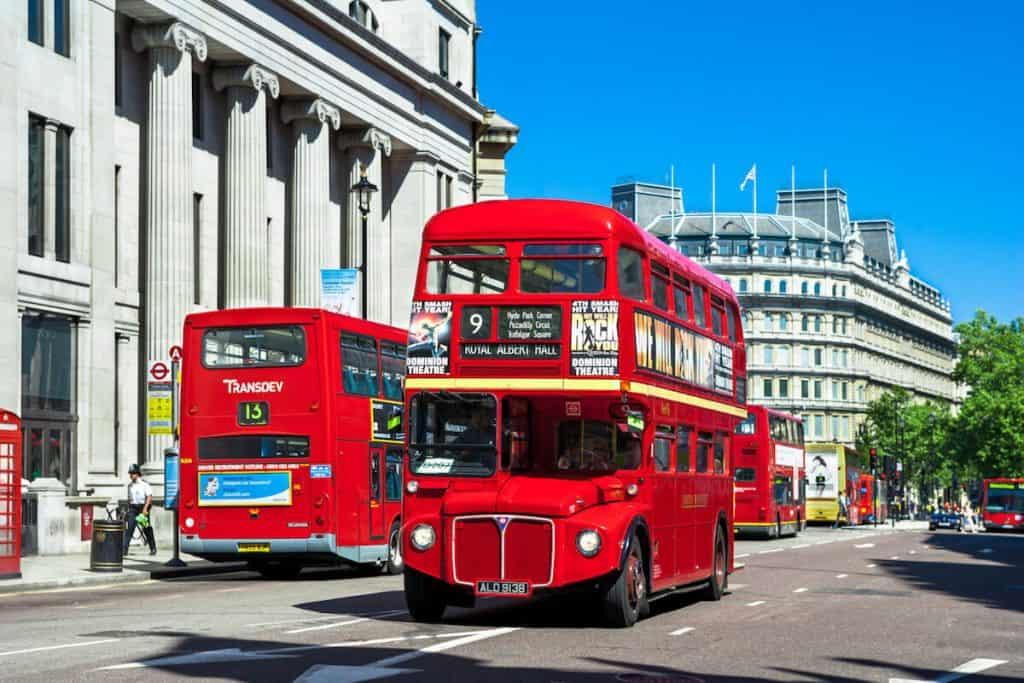 Londons buses were'nt always red