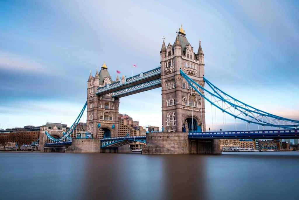 Tower Bridge took eight years to build fully