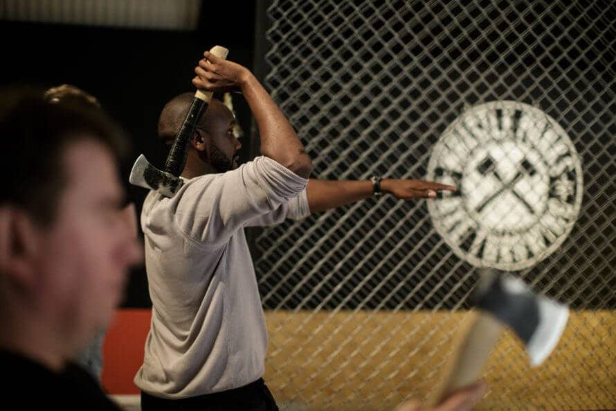 Whistle Punks Urban Axe Throwing London