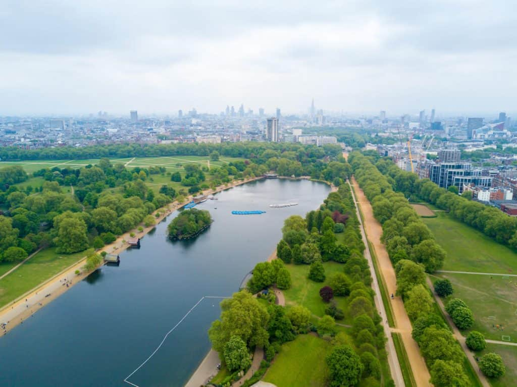 London facts for kids - London is technically a forest