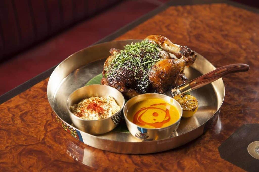 Brigadiers - one of the best Indian restaurants in London