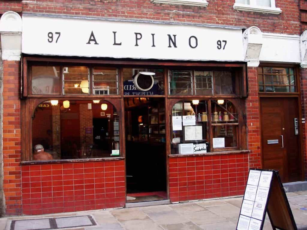 Alpine cafe