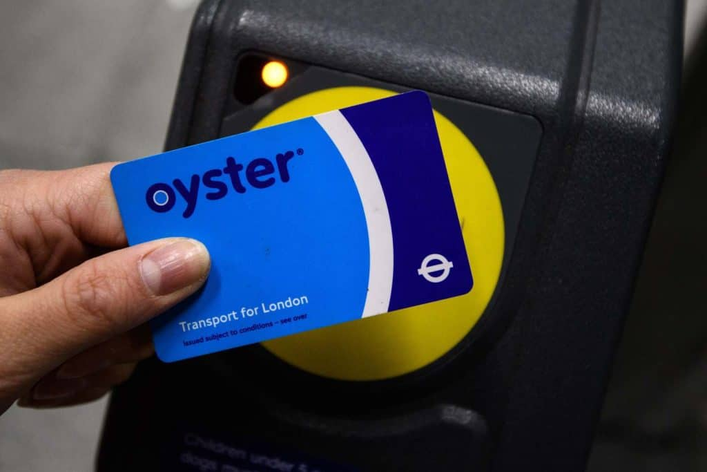 Buy an Oyster card to travel on London Underground