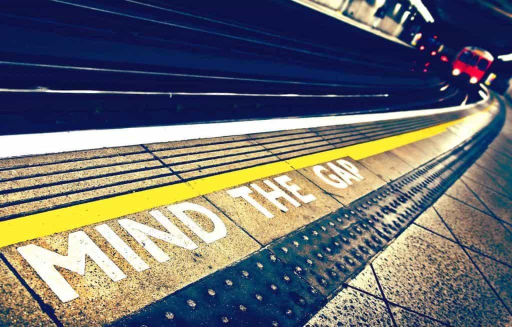 Mind the gap on the London Underground