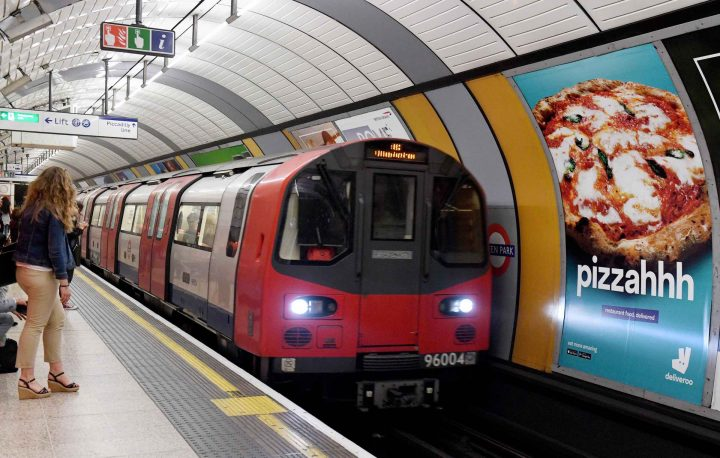navigating the underground in london