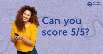 Can you get 8 out of 10 in this Transport for London Quiz?