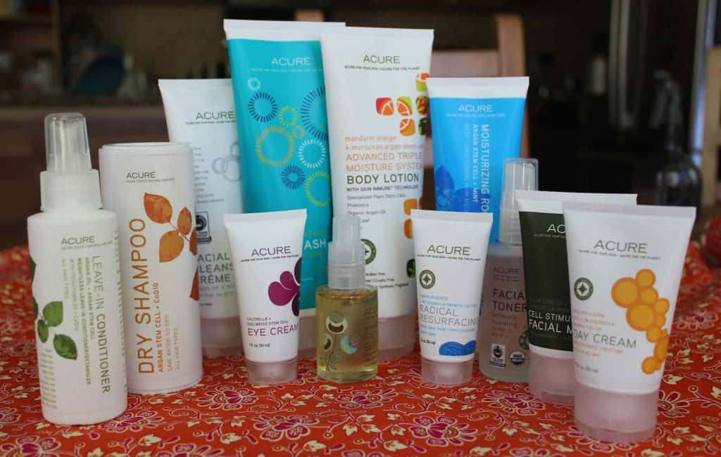Acure organic skincare for teens
