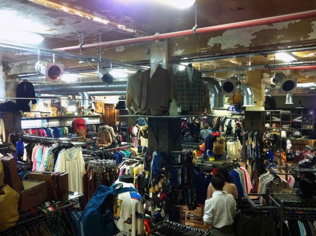 Beyond Retro shop in London Dalston