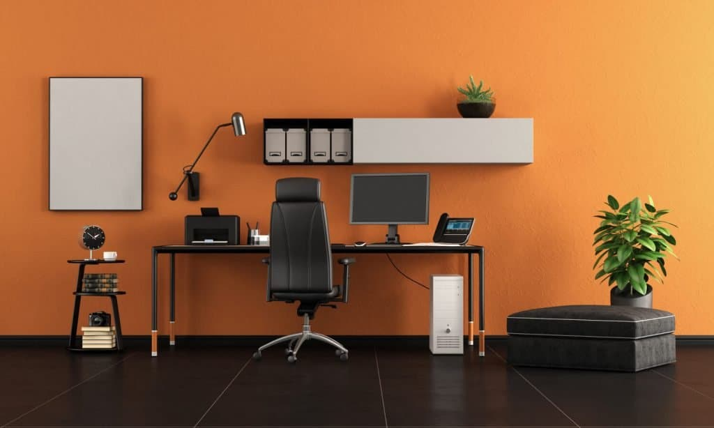 create an attractive home office when remote working