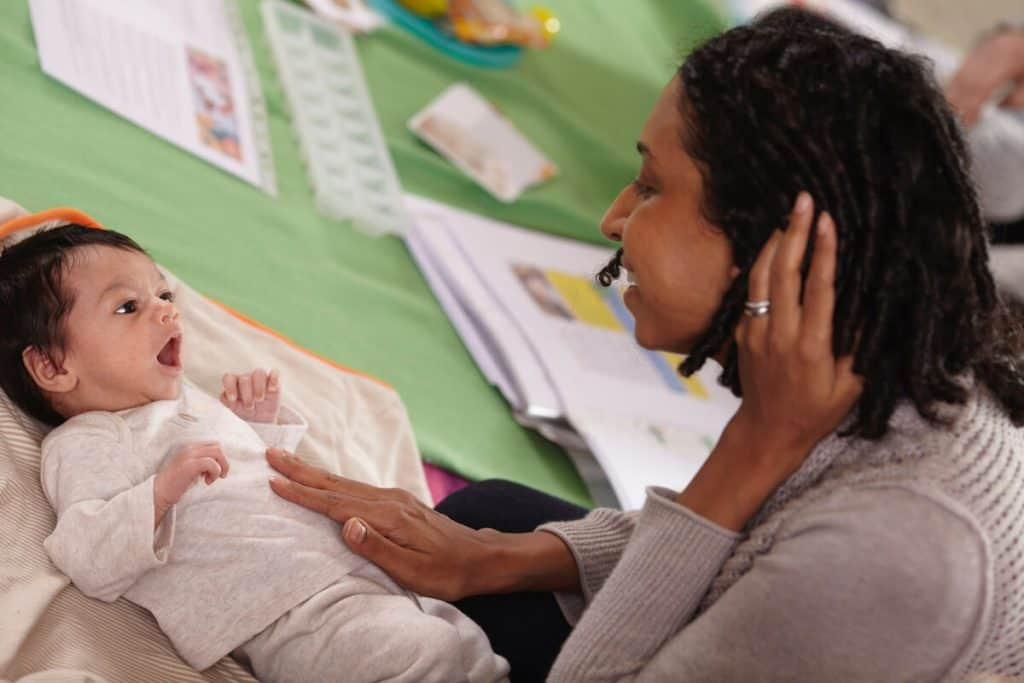 Baby massage classes at National Childbirth Trust
