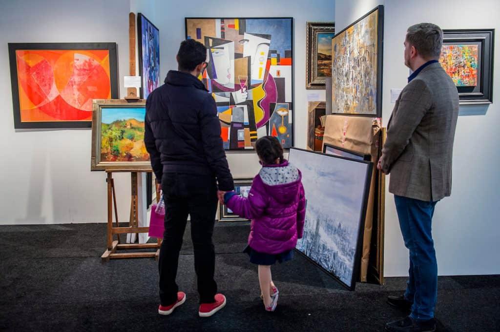 Affordable Art fair battersea 2