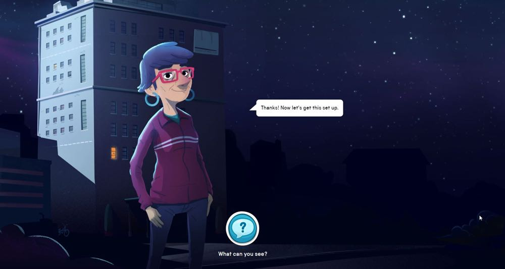 Total Darkness helps kids learn critical thinking