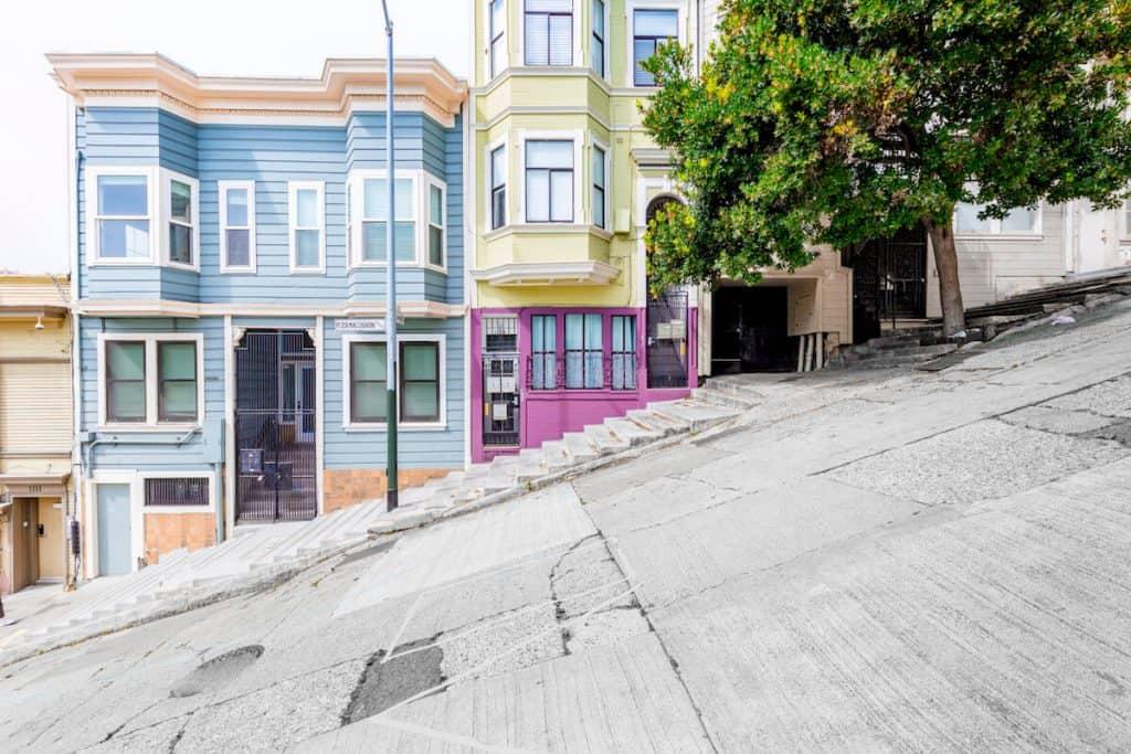 San Francisco's Pacific Heights neighbourhood