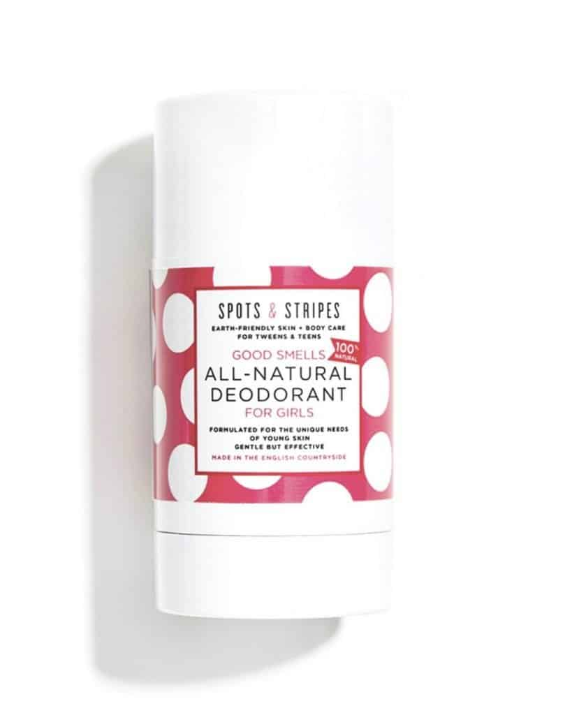 SPOTS AND STRIPES GOOD SMELLS ALL NATURAL DEODORANT