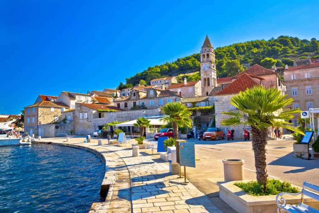 Croatia where Mamma Mia was filmed