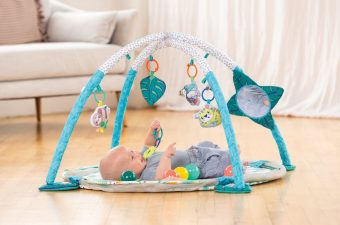 3-in-1 Jumbo Activity Gym Ball Pit by Infantino newborn