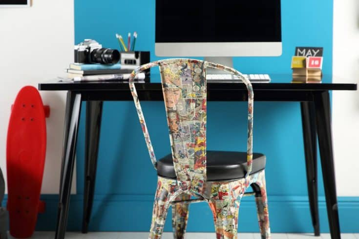 DIY Comic Book Chair How To