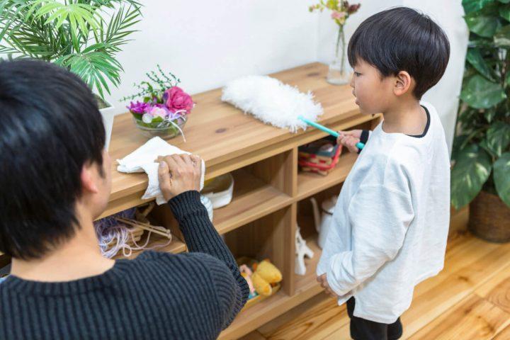 children-doing-chores