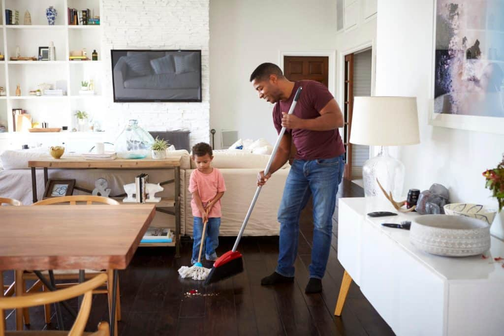 Chores are the job of all in the house
