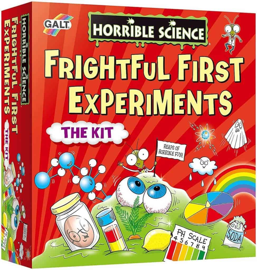 Horrible Science experiments kit