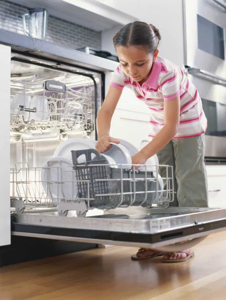 Pack the dishwasher