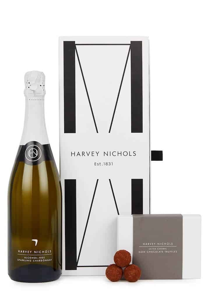 HARVEY NICHOLS Alcohol-Free Sparkling Chardonnay & Salted Caramel