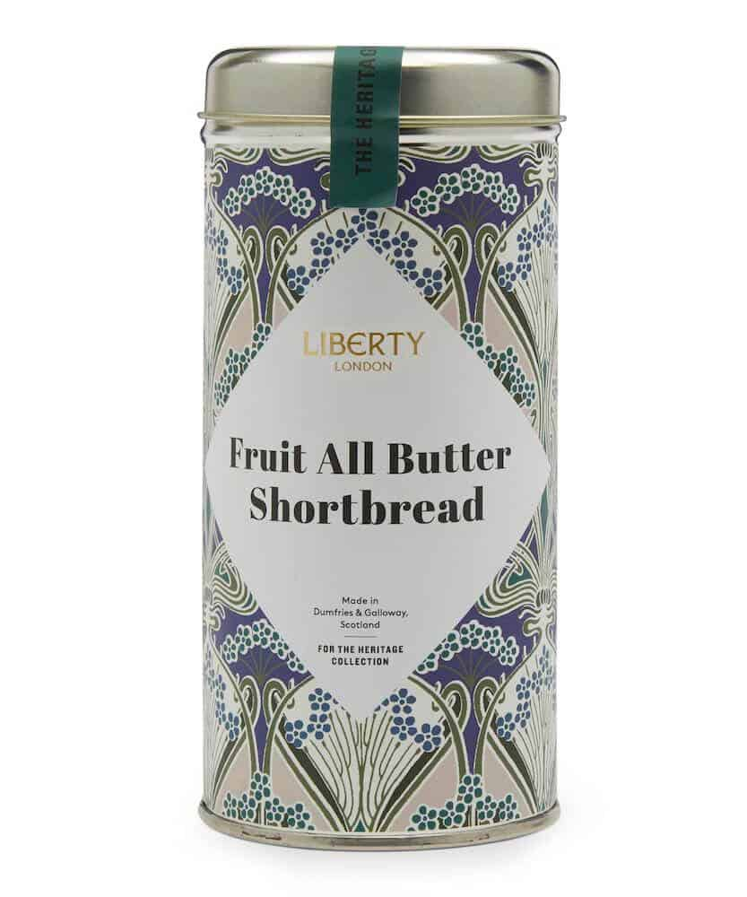 LIBERTY LONDON All-Butter Fruit Shortbread Biscuits