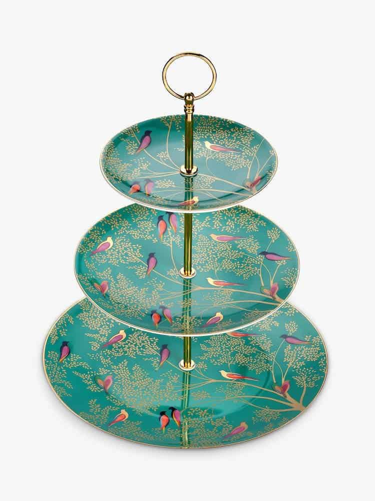 Sara Miller Chelsea Collection Cake Stand