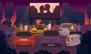 a list of new drive in cinemas in London