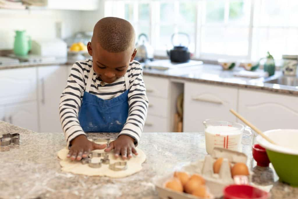 how baking helps Stem skills