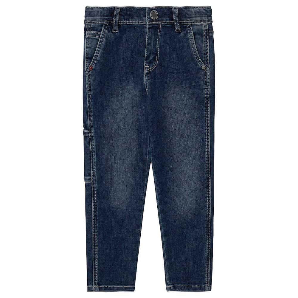 Ikks Blue Denim Low Cut Jeans