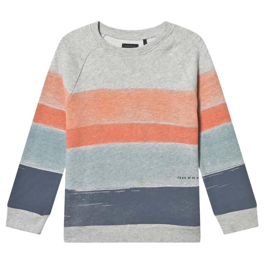 Ikks Multi Stripe Sweatshirt