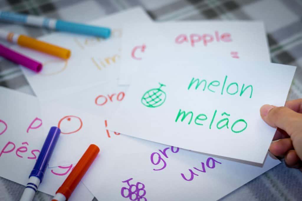 teach kids portuguese